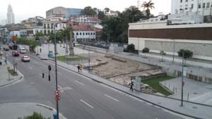 Palimpseste urbain : les quais superposés du Valongo (2013-2015)